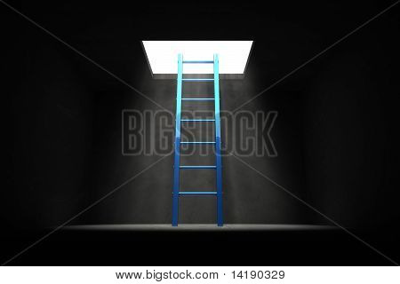 Exit The Dark - Blue Ladder To The Light