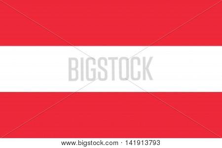 Austria, flag, decoration, vein, day, seasonal, vector, sign