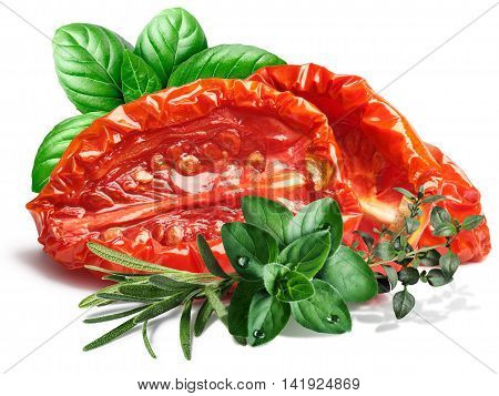 Sundried Oiled Tomatoes With Herbs