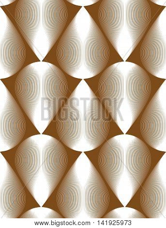 Vector abstract seamless pattern with geometric figures.