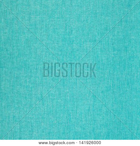 Melange blue and white  fabric background kitchen towel texture.