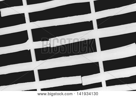 Abstract background, board texture bottom view of the sky, the negative effect