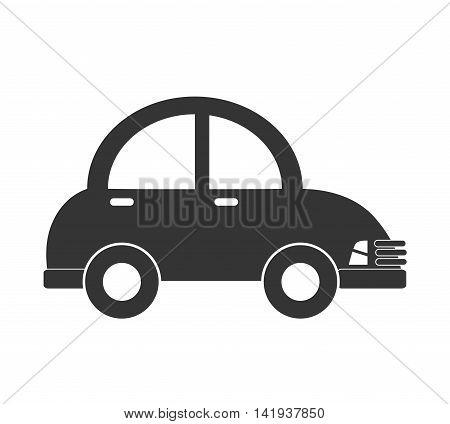 car vehicle auto , isolated flat icon design