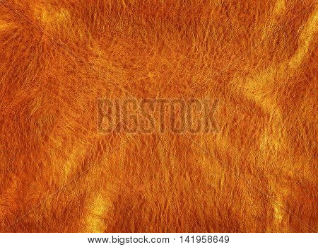 close- up shot of bronze leather texture background
