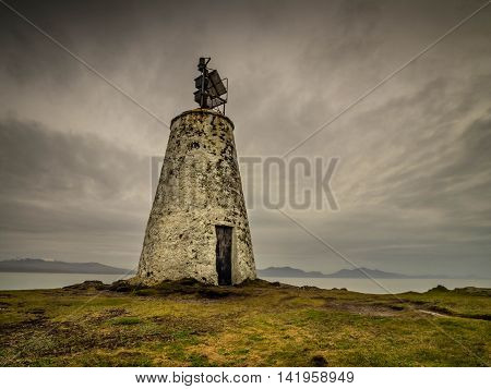 The Old Beacon This beacon is situated on the island of Llanddwyn, Anglesey, Wales