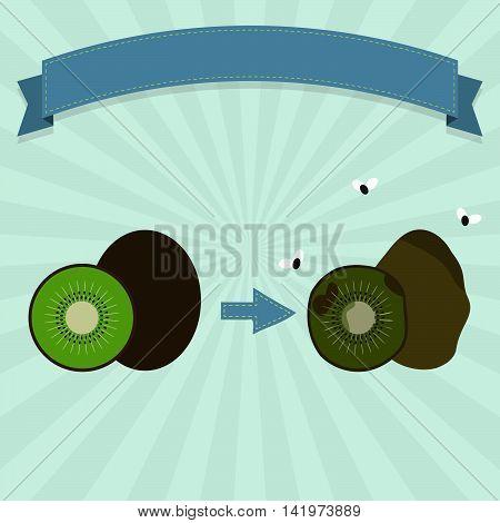 Rotten Kiwifruit