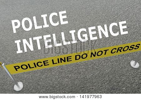 Police Intelligence Concept