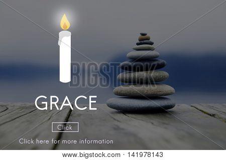 Grace Elegance Faith Refinement Religion Spirit Concept