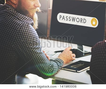 Password Accessible Permission Verification Security Concept