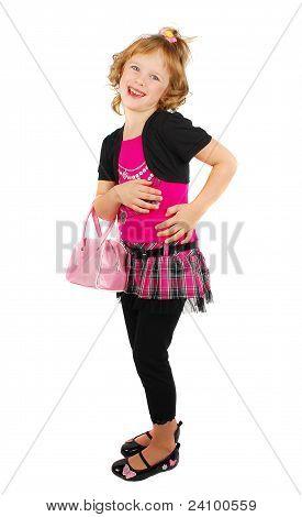 Menina da moda.