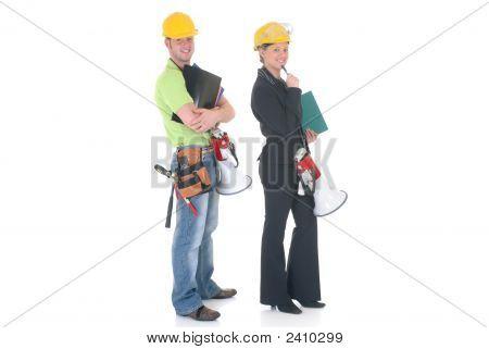 Construction Supervisor Couple