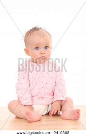 Portrait von 6 Monaten Baby girl