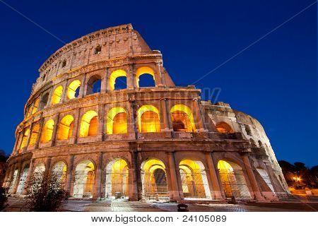 Colosseum Dome Rome Italy