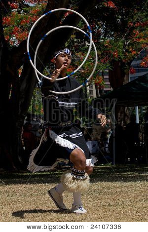 Navajo Hoop Dancer
