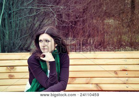 Thoughtful Lady