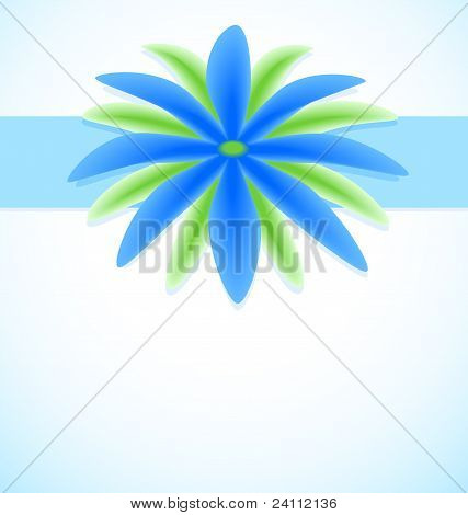 Fantastic Flower Greeting Card