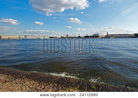 St. Petersburg. The Neva River
