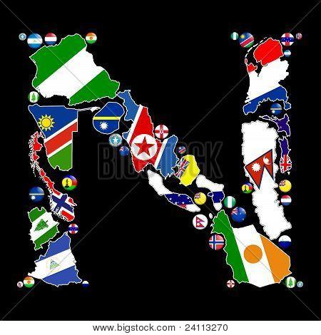 Países de N