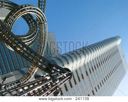 Yokohama Building With Stainless Steel