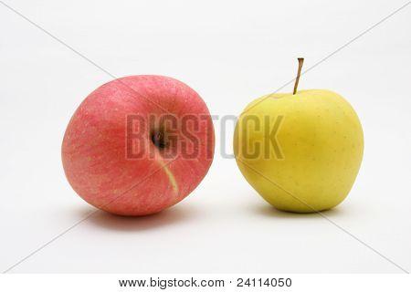 Yellow Apple and Rad Apple
