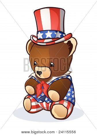 Teddy Bear Uncle Sam