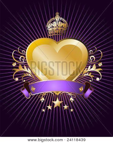 Golden Heart Label