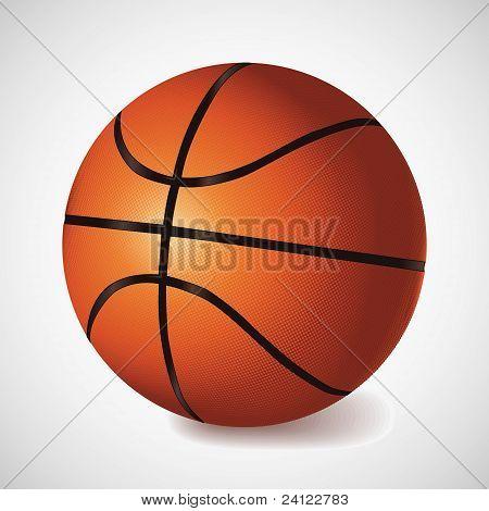 Vector basket ball