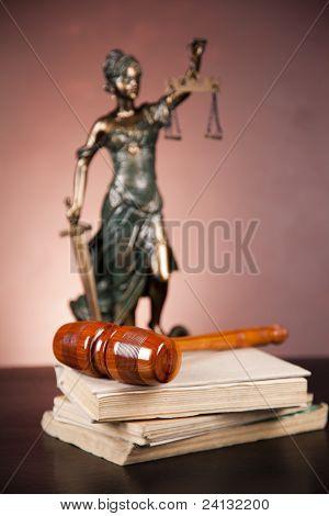 Mazo de la justicia