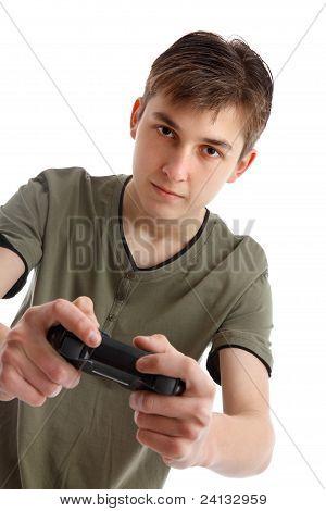 Video-Spiel spielen Teenager