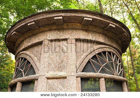 Wooden Belvedere  Fragment