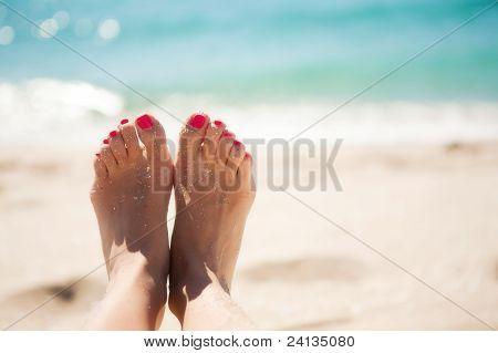 Feet girl