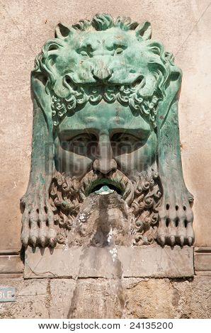 Fountain By Antoine Laurent Dantan, Place De La Republique, Arles, France