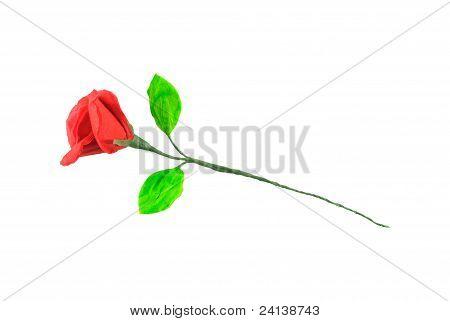 Tissue Paper Rose