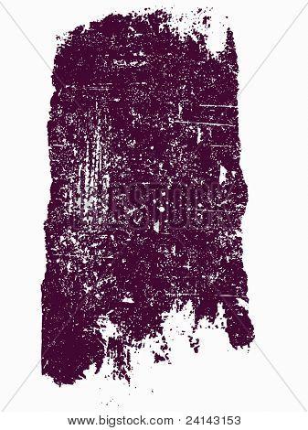 Grunge elements - Large Grunge Square 13 - Highly Detailed vector grunge element
