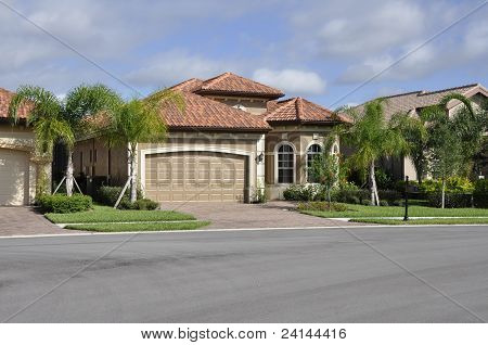 Typical Modern Home In Florida