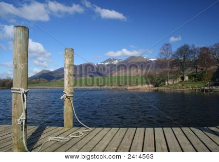 Mooring And Mountain