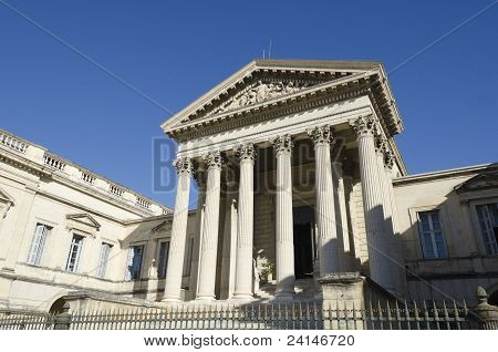 old courthouse of Montpellier, France