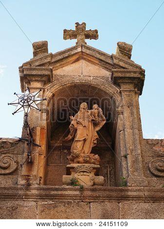 Arco De La Estrella (18Th Century) In Caceres
