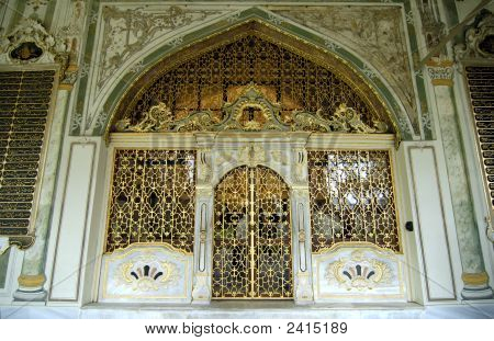 The One Of Harem`S Entrance In Topkapi Palace