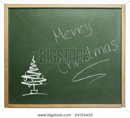 Frohe Weihnachten-Tafel