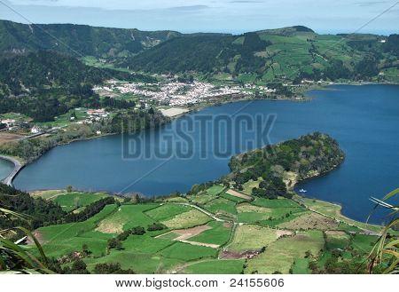 Lagoa Das Sete Cidades At Sao Miguel Island