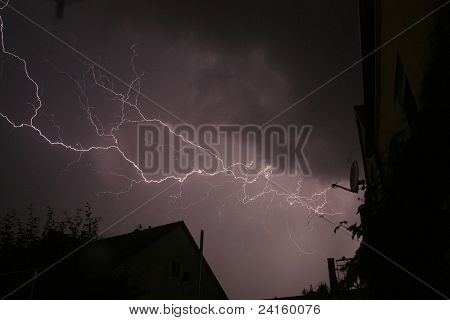 Heavy lightening
