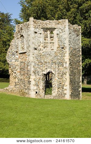 Ruined Dovecote, Bury St Edmunds