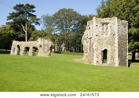 Abbey Ruins, Bury St Edmunds, Suffolk