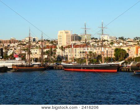 Ships In The Bay