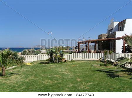 Tourist Resort In Greece