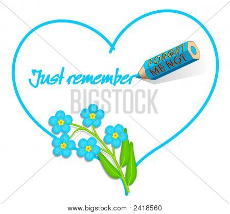 Forget-Me-Not / Just Remember -  Love Note