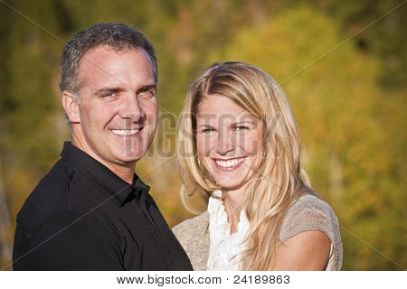 Beautiful Middle-aged Couple Portrait