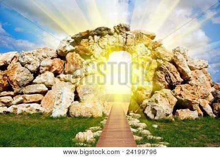 ruínas do paraíso