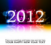 foto of new years celebration  - 2012 New Year celebration background for cover - JPG
